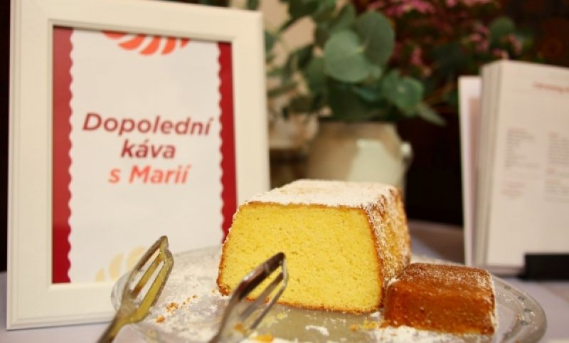 We supported origin of the book - 99 sweet endings by Marie Baťová